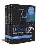 Wiley's Level III CFA Program Study Guide 2022