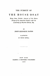 The Pursuit of the House-boat: Being Some Further Account of the Divers Doings of the Associated Shades, Under the Leadership of Sherlock Holmes, Esq
