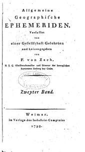 Allgemeine geographische Ephemeriden: Band 2