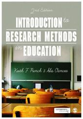 Introduction to Research Methods in Education: Edition 2