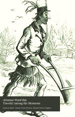 Artemus Ward (his Travels) Among the Mormons