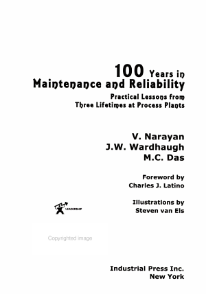 100 Years in Maintenance and Reliability