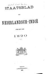 Staatsblad van Nederlandsch Indië: Volume 1890