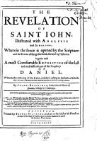 The Revelation of Saint John  Illustrated with Analysis and Scholions     PDF