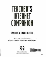 Teacher s Internet Companion PDF