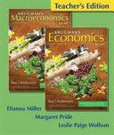 Teacher s Edition of Economics for AP  Book