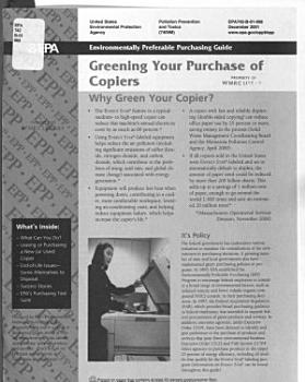 Environmentally Preferable Purchasing Guide PDF