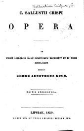 Opera: Ad fidem librorum manu scriptorum recensuit et in usum scholarum