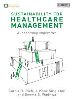Sustainability for Healthcare Management PDF