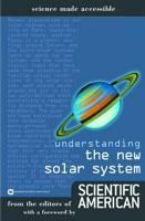 Understanding the New Solar System PDF