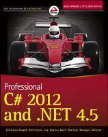 Professional C  2012 and  NET 4 5 PDF