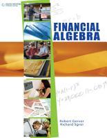 Financial Algebra  Student Edition PDF