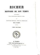 Histoire de son temps texte reproduit d'après l'édition originale donnée par G.H. Pertz avec traduction française ...