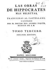 Las obras de Hippocrates mas selectas: Volume 3