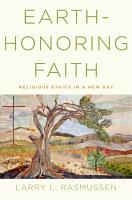 Earth Honoring Faith PDF