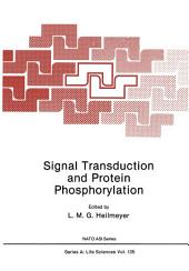 Signal Transduction and Protein Phosphorylation