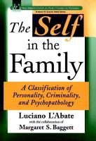The Self in the Family PDF