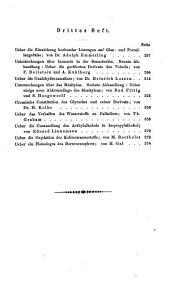 Annalen der Pharmacie: Band 150