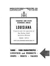 United States Census of Agriculture: 1950: Volume 1, Part 24