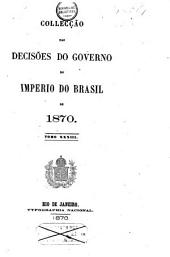Collecção das decisões do governo do Imperio do Brazil de 1866 [-1878]: Volume 5