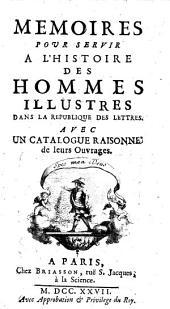 Memoires pour Servir a l'Histoire des Hommes
