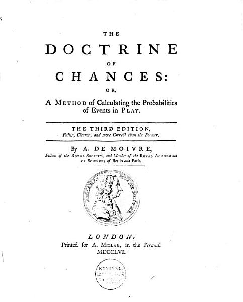 Download The Doctrine of Chances Book