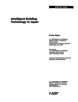 Intelligent Building Technology in Japan PDF
