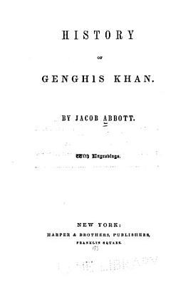 History of Genghis Khan PDF