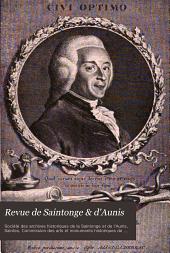 Revue de Saintonge & d'Aunis: Bulletin de la Société des archives historique ..., Volume28