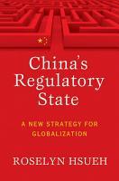 China s Regulatory State PDF