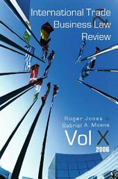 International Trade and Business Law Review: Volume 10