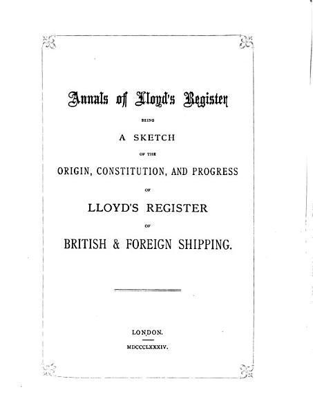 Download Annals of Lloyd s Register Book