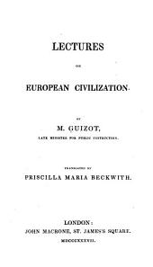 Lectures on European Civilization