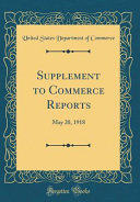 Supplement to Commerce Reports PDF