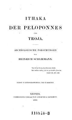 Ithaka  der Peloponnes und Troja PDF