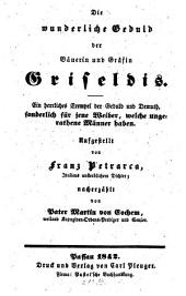 Die wunderliche Geduld der Bäuerin und Gräfin Griseldis