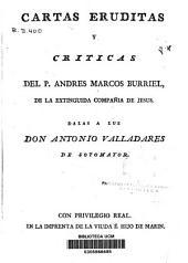 Cartas eruditas y críticas