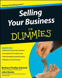Selling Your Business For Dummies Book PDF