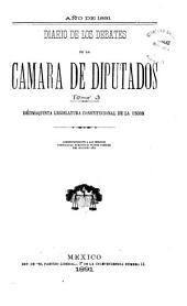 Diario de los debates: Volumen 3