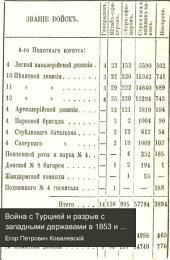 Война съ Турціей и разрывъ съ западными державами въ 1853 и 1854 годахъ: съ планами и картою