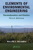 Elements of Environmental Engineering PDF
