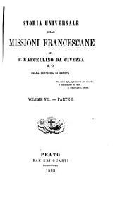 Storia universale delle missioni francescane: pt. 4. 1556-1805