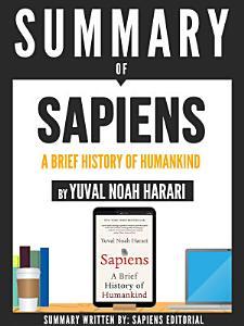 Summary Of  Sapiens  A Brief History Of Humankind   By Yuval Noah Harari  PDF