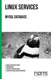 MySQL Database: Linux Services. AL3-050