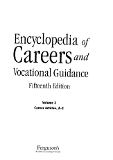 Encyclopedia of Careers and Vocational Guidance  Career articles  INSU PHO PDF