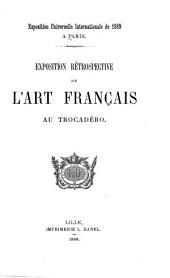 Exposition rétrospective de l'art français au Trocadéro