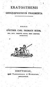 Eratosthenis Geographicorum fragmenta