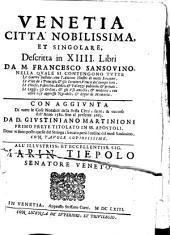 Venetia, città nobilissima, et singolare: Volume 1