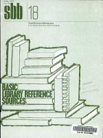 Basic Library Reference Sources PDF
