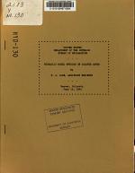 Memorandum to Chief Designing Engineer, Subject, Hydraulic Model Studies on Coaster Gates